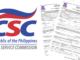 CS Form 101-D, Revised Sept. 2013