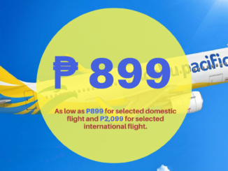Cebu Pacific Promo Fares Travel Period of January to March 2018