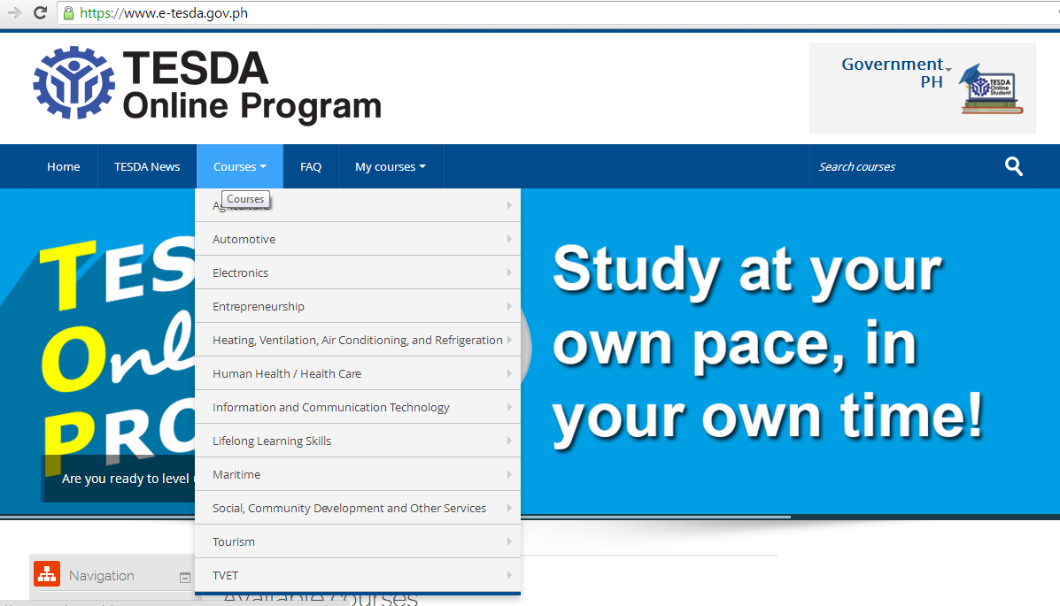 How to Register and Access Free TESDA Online Courses